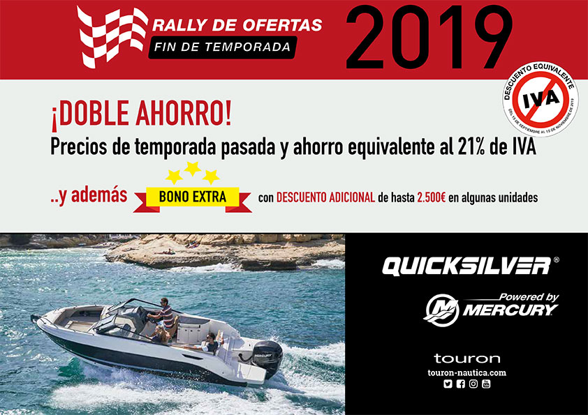 Rally ofertas Quicksilver 2019