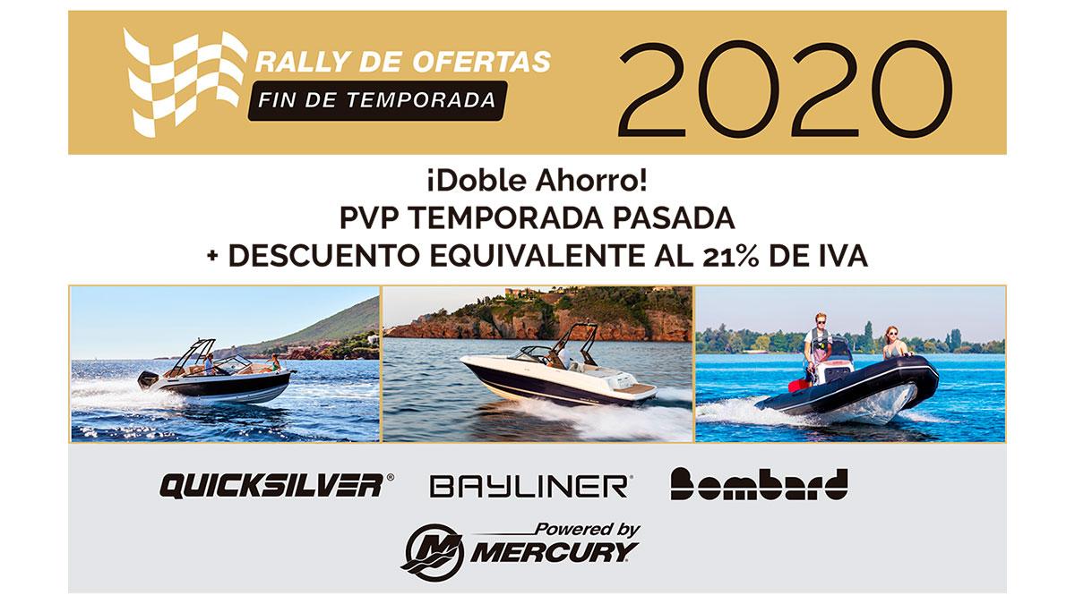 Rally de ofertas fin de temporada 2020 Imagen destacada